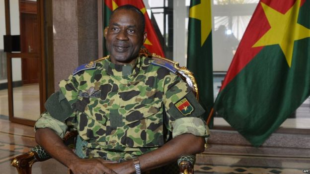 Gen Diendere was right-hand man to ex-president Blaise Compaore for nearly three decades