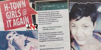 Harare woman in faeces ritual..... Geraldine now popular on Whatsapp
