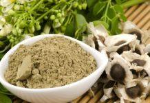 Moringa Oliefera tree seeds via Shutterstock