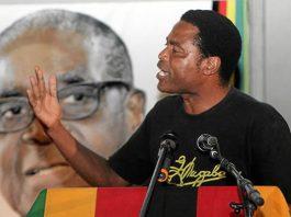 Former war veterans leader Jabulani Sibanda