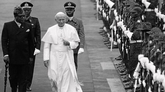 In 1985, the same year Mobutu Sese Seko hosted Pope John Paul II in Kinshasa, he created the Special Presidential Brigade to look after his personal security
