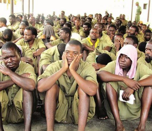 File picture of prisoners at Chikurubi Maximum Security Prison