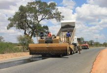 File picture of road construction