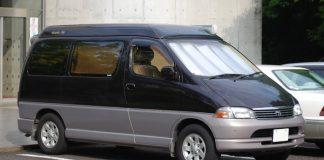 File picture of a Toyota Granvia