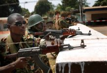 African Union army starts training
