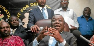 Opposition leader Morgan Tsvangirai