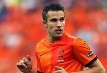 Robin van Persie scored an own goal in a home defeat by the 10-man Czech Republic