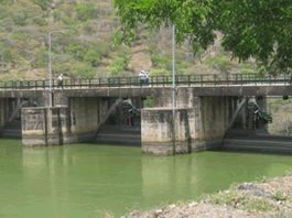 The water levels in dams are far below normal levels