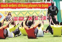 Pasuwa orders players on strike to train