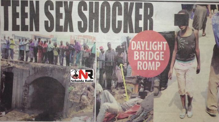 Teen sex shocker..... minor in bridge sex – Nehanda Radio