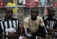 Bosso were indebted to the reflexes of the goalkeeper Ariel Sibanda (pictured in the middle), who denied the marauding FC Platinum strikers when the home side was dominant.
