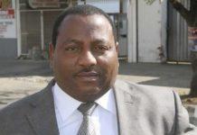 ZIFA Vice President Omega Sibanda