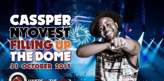 Cassper Nyovest made history by becoming the first South African artiste to sell-out The Dome in Johannesburg