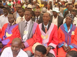 Chiefs from Mashonaland East were part of the crowd at a Zanu PF rally held at Murehwa growth point yesterday
