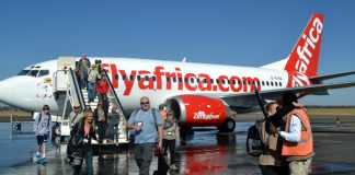Budget airline Fly Africa Zimbabwe