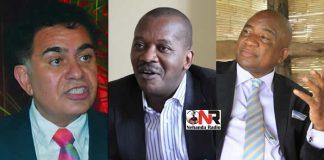 Three-Man Race: Trevor Carelse-Juul, Leslie Gwindi and Philip Chiyangwa