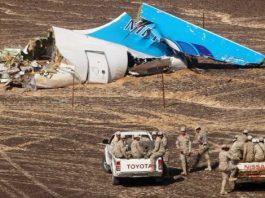 Metrojet Airbus A321 crash site
