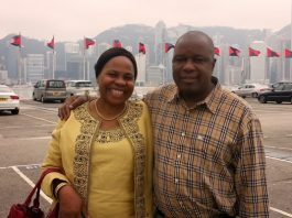 Monica and Christopher Mutsvangwa