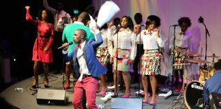 ZimPraise Choir seen here performing in the UK