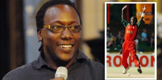 Zimbabwean cricket legend Henry Olonga