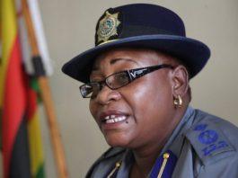 Zimbabwe Republic Police (ZRP) national spokeswoman Charity Charamba