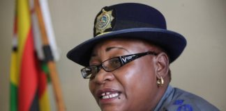 Zimbabwe Republic Police (ZRP) national spokeswoman Charity Charamba