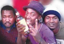 From left: Oliver Sibanda, Sandiso Moyo and Chilando Mwansa