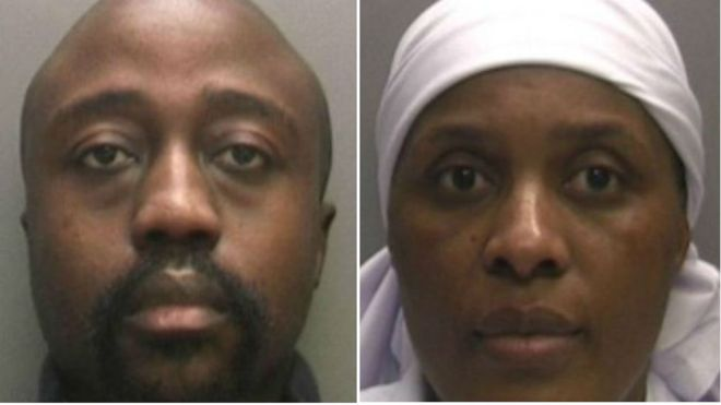 "Brian and Precious Kandare were guilty of the ""most serious abuse of trust"", said prosecutors"