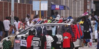 Second hand clothes continue to flood market