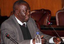 Former head of the State Procurement Board Charles Kuwaza