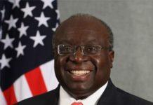 US ambassador-designate to Zimbabwe Harry Thomas Jr