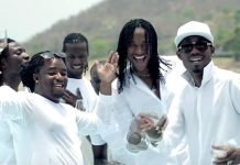 "A scene from ""Hello"" video by Jah Prayzah"