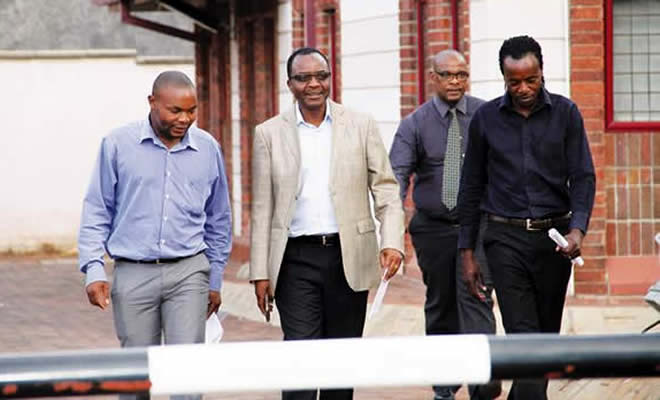 James Maridadi (second from left)