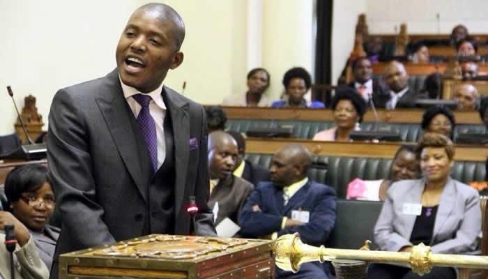 Justice Mayor Wadyajena seen here in Parliament