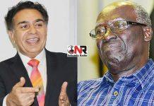 Trevor Carelse Juul and Sam Sipepa Nkomo