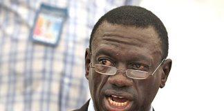 Ugandan opposition leader Kizza Besigye