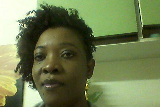Asylum seeker Ester Nyambi. (Photo: VOA)