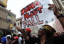#ZumaMustFall: South Africans march against Jacob Zuma