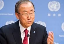 UN leader Ban Ki-moon