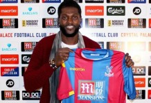Emmanuel Adebayor's last appearance came in May 2015