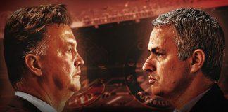 Louis van Gaal versus Jose Mourinho