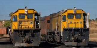 National Railways of Zimbabwe (NRZ) trains