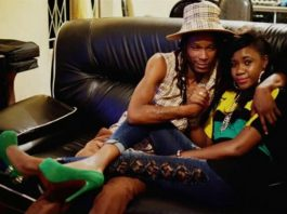 Soul Jah Love and Bounty Lisa relaxing at home