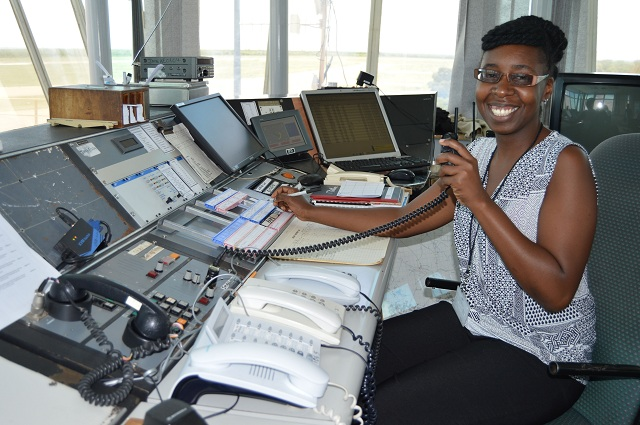 Meet Tatenda Makundo the only female air controller at Joshua Nkomo Airport