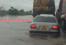 File picture of flooding in Zimbabwe a few years ago