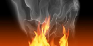 Man sets himself on fire after wife fails to cook him fish