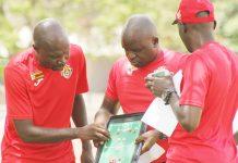 Zimbabwe national team coach Callisto Pasuwa