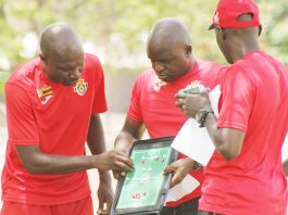 Zimbabwe national team coach Callisto Pasuwa