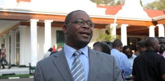 Lands and Rural Resettlement minister Douglas Mombeshora