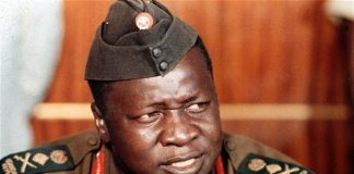 The late former Ugandan dictator Idi Amin